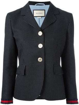 Gucci micro dot blazer
