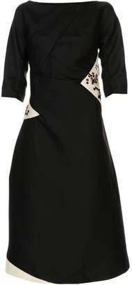 Jil Sander 3/4 length dresses