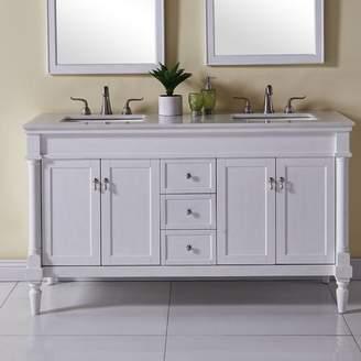 "Co Darby Home Deina 60"" Double Bathroom Vanity Set Base"
