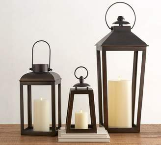 Pottery Barn Eclectic Smith Bronze Lantern