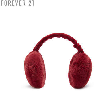 Forever 21 (フォーエバー 21) - Forever 21 フェイクファーイヤーマフ
