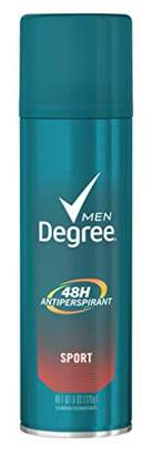 Degree Aero Sport Size 6z Aerosol Sport Deodorant