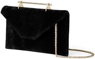 M2Malletier Annabelle Velvet Clutch Bag