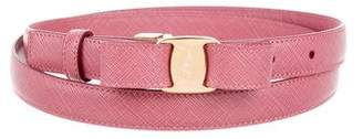Salvatore Ferragamo Thin Vara Belt w/ Tags