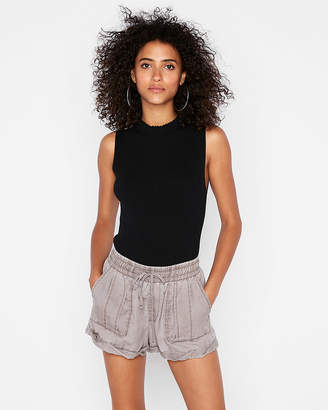Express Rolled Hem Utility Shortie