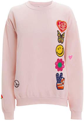 Madeworn Faded Pink Patch Sweatshirt