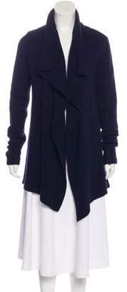 Vince Wool-Blend Asymmetrical Cardigan