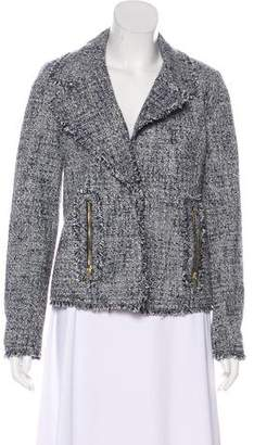 MICHAEL Michael Kors Textured Notch-Lapel Blazer