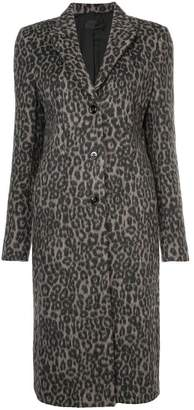 RtA leopard print coat