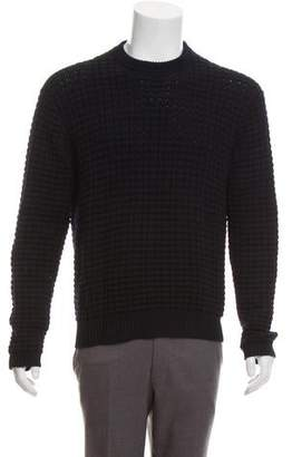 Christian Dior Wool Contrast Sweater