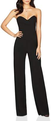 Nookie Bisous Strapless Sweetheart Jumpsuit
