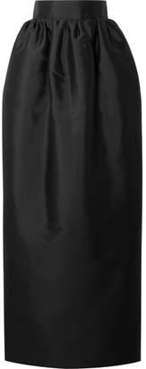 The Row Ranel Silk-taffeta Maxi Skirt - Black