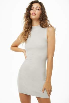 Forever 21 Ribbed Mock Neck Dress