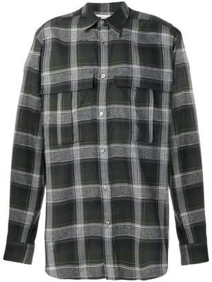 Stella McCartney checked Slay shirt