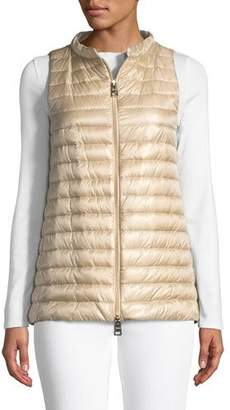 Herno Classic Nylon A-Line Vest