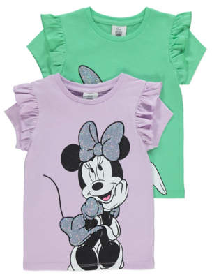 Disney Minnie Mouse & Daisy Duck T Shirts 2 Pack