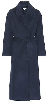 Ganni Smooth wool-blend coat