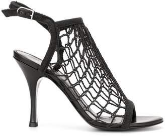 35324835ec Sonia Rykiel fishnet heeled sandals
