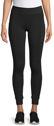 Andrew Marc PERFORMANCE Stretch Cotton Pocket Leggings