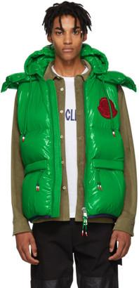 Moncler Genius 2 1952 Green Lorent Down Vest