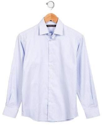 Michael Kors Boys' Printed Button-Up Shirt w/ Tags