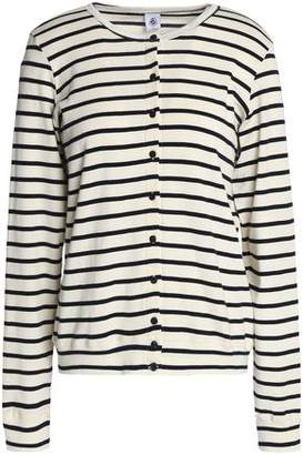 Petit Bateau Striped Cotton-Jersey Cardigan