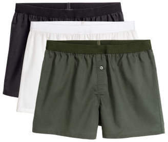 H&M 3-pack Boxer Shorts - Green