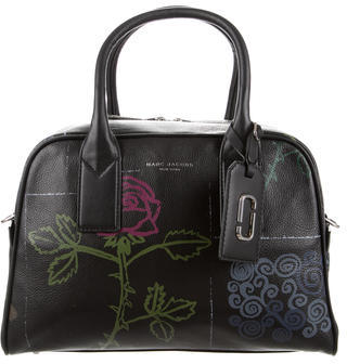 Marc JacobsMarc Jacobs Tabboo! Flower Leather Bauletto Bag