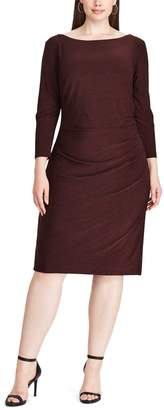 Chaps Plus Size Jersey Sheath Dress
