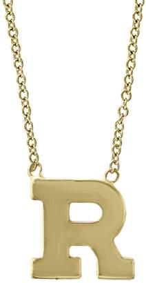 Effy 14K Yellow Gold Letter Pendant Necklace