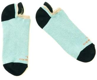 Blade + Blue Pale Blue, Cream & Black No-Show Ped Socks