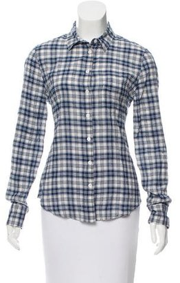 Boy. by Band of Outsiders Plaid Button-Up Top $75 thestylecure.com