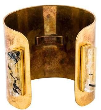 Kelly Wearstler Tourmalinated Quartz Travkin Shield Cuff