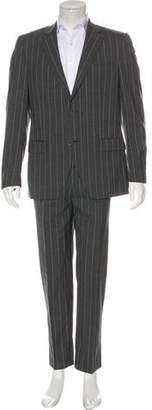 Dolce & Gabbana Wool Pinstripe Two-Piece Suit