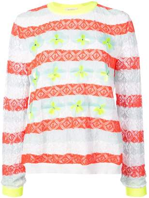 DELPOZO striped jumper