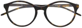 Ray-Ban round tortoise shell effect glasses
