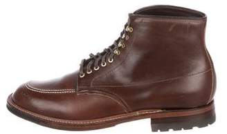 Alden Leather Ankle Boots
