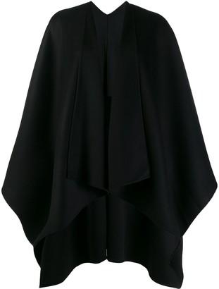 Joseph oversized cape poncho