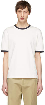 Thom Browne Off-White Ringer T-Shirt