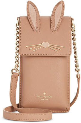 Kate Spade Rabbit North South Phone Crossbody