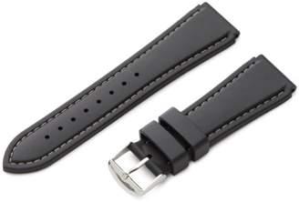Hadley-Roma 22mm 'Men's' Rubber Watch Strap