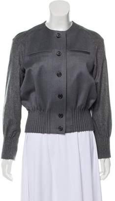 Thom Browne Wool Bomber Jacket