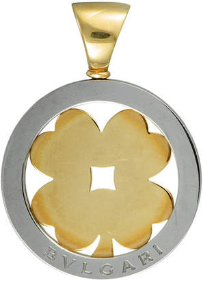 Bulgari 18K & Stainless Steel Pendant