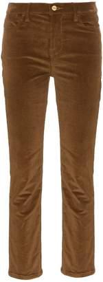 Frame Le high boot cut velvet jeans