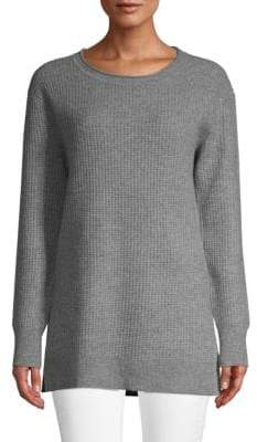 Saks Fifth Avenue Textured Knit Cashmere Pullover