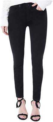 Juicy Couture Black Denim Mid-Rise Skinny Jean