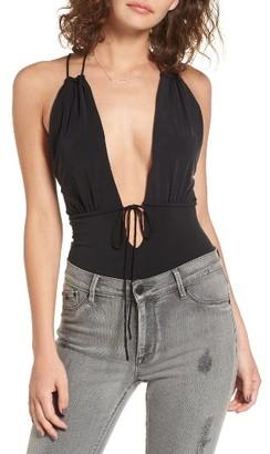 Women's Majorelle Valley Plunge Bodysuit $118 thestylecure.com