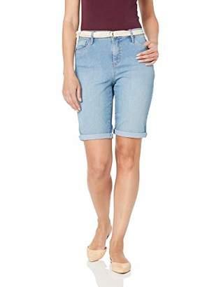 0ae860668b Gloria Vanderbilt Women's Joslyn Single Cuff Bermuda Short