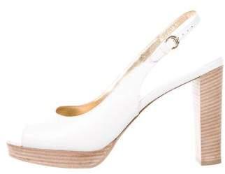Walter Steiger Leather Slingback Sandals