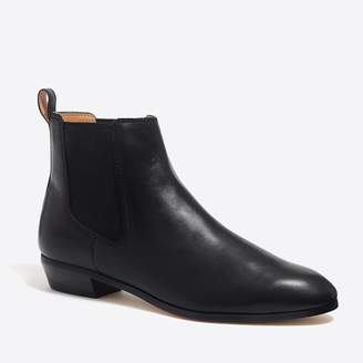 J.Crew Leather Chelsea boots